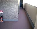 廊下防滑性シート工事後