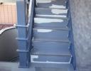 階段防滑性シート工事前